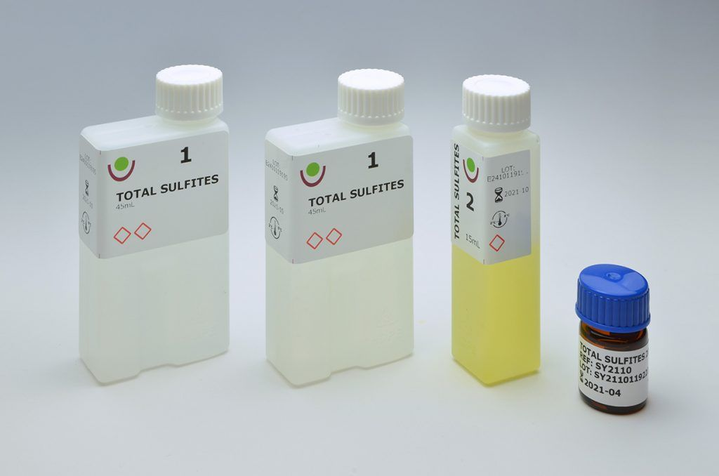 SY2410 TOTAL SULFITES kit sinatech