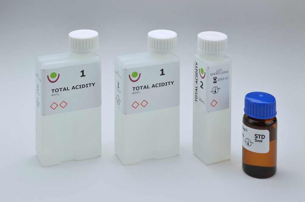 SY2430 TOTAL ACIDITY kit sinatech